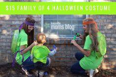 $15 Family of 4 Halloween Costume