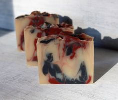 Black Currant Vanilla Soap Bar, with Shea, Mango, Cocoa Butters, Palm Free Soap, Activated Charcoal, Natural Fragrance, Red Clay by NaturisticBath on Etsy