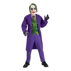 Boys' Batman: The Dark Knight Trilogy(TM) Deluxe Joker Costume - Small