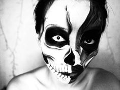 Halloween Makeup: Skull/Skeleton Makeup Tutorial