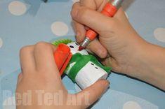 Snowman Ornament Crafts