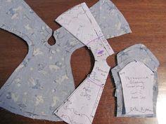 Tutorial set-in sleeves