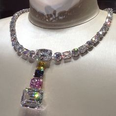 In all my pinning, this by far is the most fantastic necklace I have ever seen. Jacob & Co.