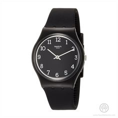 watch Originals Blackway Quartz Watch ► Black Case & Band ► Time Only ► Plastic Case / Silicone Band ► 34mm Case / 15mm Band ►Water Resistant 30m Ref: GB301 Shop now on Amazon.com for US$45