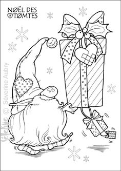 Christmas Gnome...   tomte-cadeaux