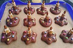 Lebkuchen - Kerze (Rezept mit Bild) von taliafee   Chefkoch.de: