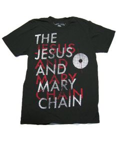 """The Jesus and Mary Chain   Soundscreen Design """"Manifest Destiny"""" Shirts"""