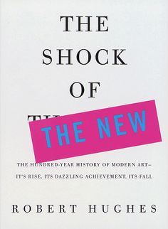 The Shock Of the New book cover design by Chip Kidd.