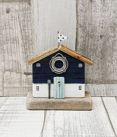 Your place to buy and sell all things handmade Pebble Painting, Stone Painting, Pebble Art, Grown Up Bedroom, Small Wooden House, Beach Clean Up, Wood Sculpture, Ribbon Sculpture, House Ornaments