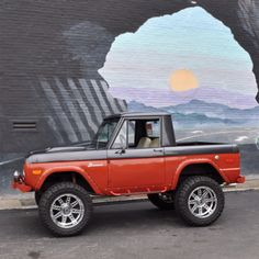 My old 74 Ford Bronco halfcab