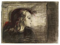 Syk pike, by Edvard Munch