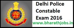 Delhi Police Constable Exam 2016 – 4227 HC SI ASI Posts Apply Online