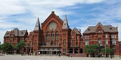 Beautiful building for beautiful music!  Music Hall, Cincinnati.
