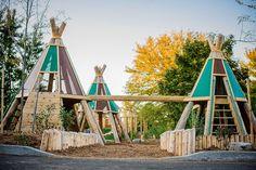 natural playground, playground, nature, adventure playground, montessori school playground --- Visit our shop canvas art --- Playground Set, Playground Design, Backyard Playground, Backyard For Kids, Diy For Kids, Backyard Ideas, Children Playground, Modern Playground, Glamping