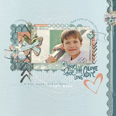 This is an adorable #scrapbook page by js_74 using a #LayerWorks #shopDesignerDigitals