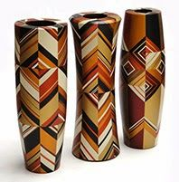 Geometric Vases collection - Pasto Varnish - Made by industrial designer William Obando