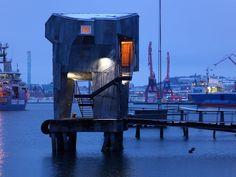 The Public Sauna on the Docks in Gothenburg, Sweden | Gessato Blog