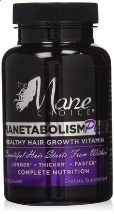Hair Vitamins - Manetabolism Healthy Hair Vitamin (30 day supply) 60 capsules