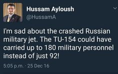 Council on Islamic-American Relations Director Is Sad More Russians Didn't Die in TU-154 Jet Crash - https://therealstrategy.com/council-on-islamic-american-relations-director-is-sad-more-russians-didnt-die-in-tu-154-jet-crash/