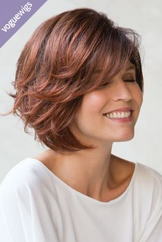 Who said short haircuts can't have amazing layers? Check out this wig from Noriko.