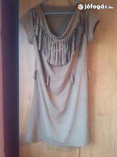 14da12f5ce Barna rojtos ruha eladó: Eladó barna rojtos M-es méretű ruha.