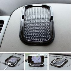 Car Non-slip Mat For Mobile Cell Phone Accessories GPS Mount Stick Holder NEW US