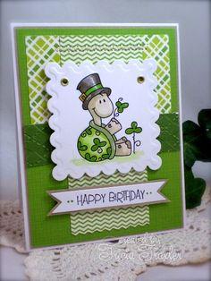 St Patty's Birthday Turtle