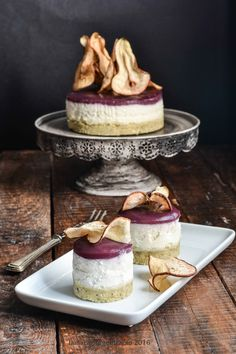 cheesecakesalato gorgonzola e pere al lambrusco Buffet, Finger Foods, Food Inspiration, Camembert Cheese, Picnic, Good Food, Favorite Recipes, Baking, Flan