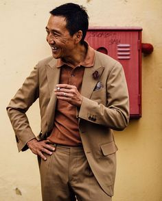 Back at Pitti. First shot for the @trunkclothiers Instagram takeover features the effortless style of Yasuto Kamoshita.