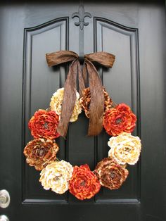 Fall Wreaths, Autumn Wreaths, Fall Decor, Front Door Wreaths, Holidays, Thanksgiving, Harvest