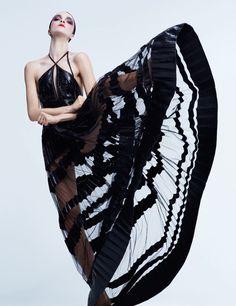 Mariacarla Boscono by Txema Yeste for Harper's Bazaar Spain March 2015 It's All GLAM   ZsaZsa Bellagio - Like No Other