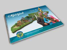 Booklet Design Pesona Wisata Nganjuk