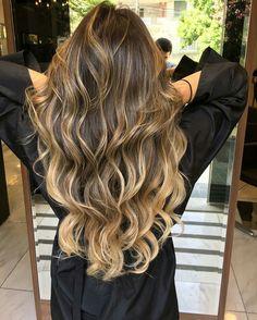 balayage Balayage Ombré, Brown Hair Balayage, Brown Blonde Hair, Hair Color Balayage, Brunette Hair, Hair Highlights, Bayalage, Hair Lights, Light Hair