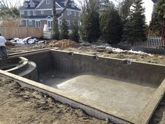 The start of a new beginning... stay tuned to see what this pool in Chatham, NJ will look like!
