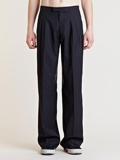 Raf Simons Archive SS05 Leather Detail Pants I REALLY NEED THESE!