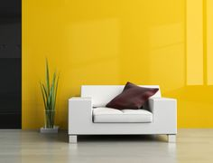 Beautiful White Sofa Minimalist Cushion Interior Design Trends 2014 | http://www.bykoket.com/blog/
