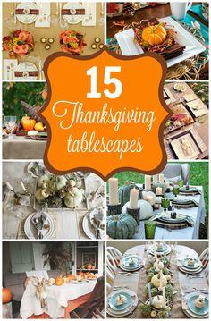 15 Stunning Thanksgi