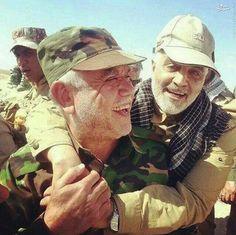 "Iran military chief is ""leader of Lebanon, Syria, Iraq and Yemen"" Qasem Soleimani, Muslim Men, Shia Islam, Islamic Quotes Wallpaper, Happy Birthday Messages, Islamic Images, Imam Ali, Real Hero, Whats Wrong"