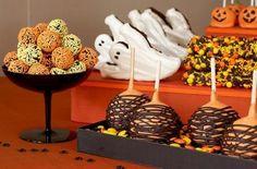 Ideias de docinhos de Halloween