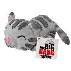 """For when you're sick: Press Big Bang Theory Soft Kitty Plush on the paw to hear song, """"Soft Kitty,"""" at least once a day or as needed. Repeat until symptoms subside. (WANT.)"""