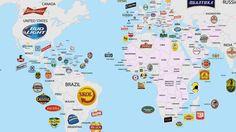 Quelle bière est la plus populaire dans chaque pays?