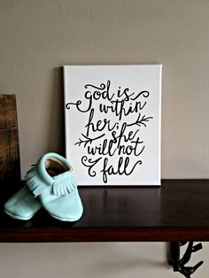 God is Within Her by BabyJuliette on Etsy