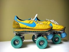 1980s Nike Sneaker Rollerskates ( VIP Fashion Australia www.vipfashionaustralia.com - international clothes shop )