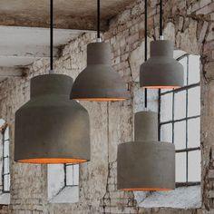 Concrete Nordic Scandinavian Hanging Lamp
