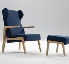 Zenith Interiors: Boomerang Wing Armchair