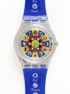 Vintage Swatch Oracolo Watch