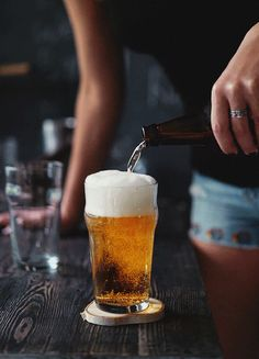 mlife: The perfect pour can be found with us… Come on in and see for yourself at Beerhaus at The Park Las Vegas. Cinemagraph by Tumblr Creatr Daria Khoroshavina