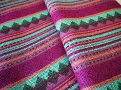 from Argentina..........................Aztec Fabric Peruvian Fabric Woven Brava by sweetllamasupplies, $18.00