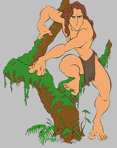 cliptarzantree.gif (255×322) Walt Disney Studios, Walt Disney Company, Brian Blessed, Minnie Driver, Tony Goldwyn, Tarzan, Disney Movies, Princess, Fictional Characters