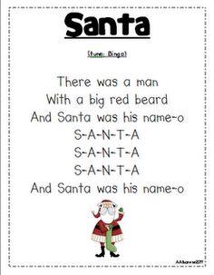 Santa to the tune of B-I-N-G-O